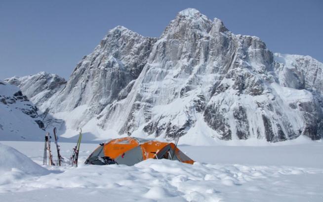 Base Camp, Buckskin Glacier, Alaska (c. Matt Helliker)