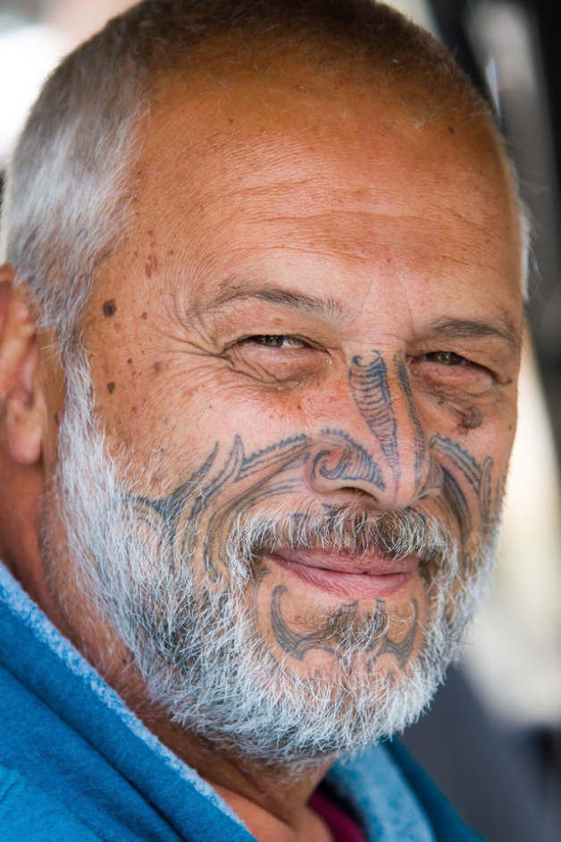 Mike Smith, member of the Ngāpuhi People. Photo: John Bilderback