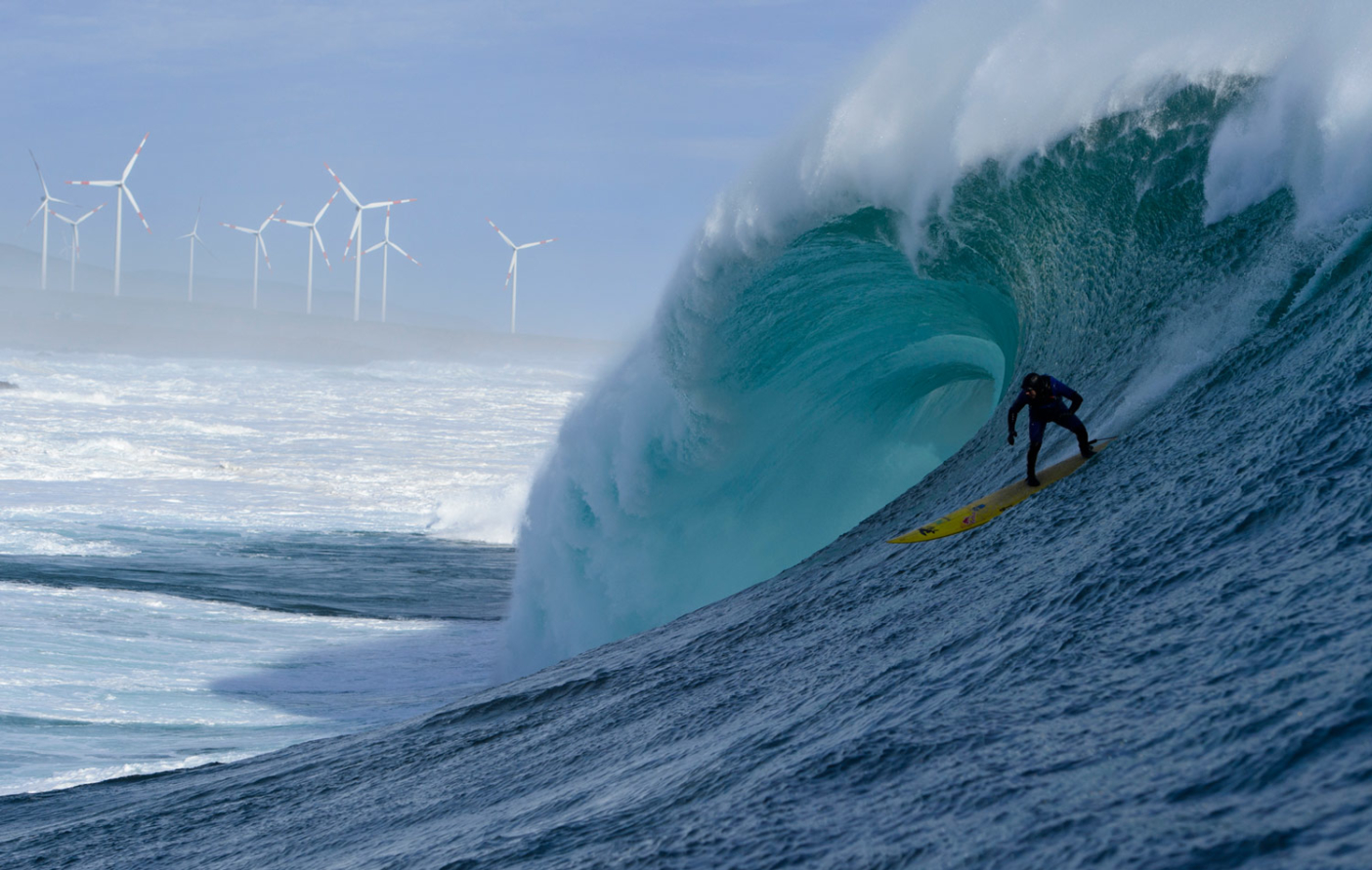 Ramon Navarro charges his own Pacific power source. Photo: Daniel Russo