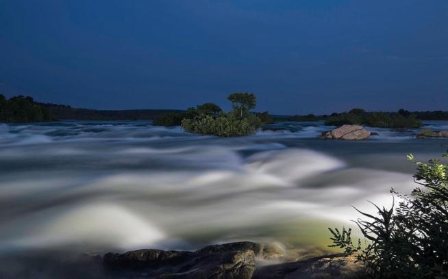 The White Nile River, a tributary of the Nile, flows through Uganda. Photo: Eli Reichman