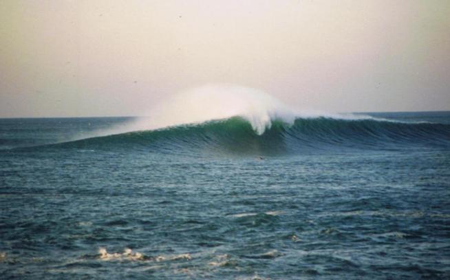 Was Meñakoz a legitimate big-wave spot? Photo: Tony Butt collection