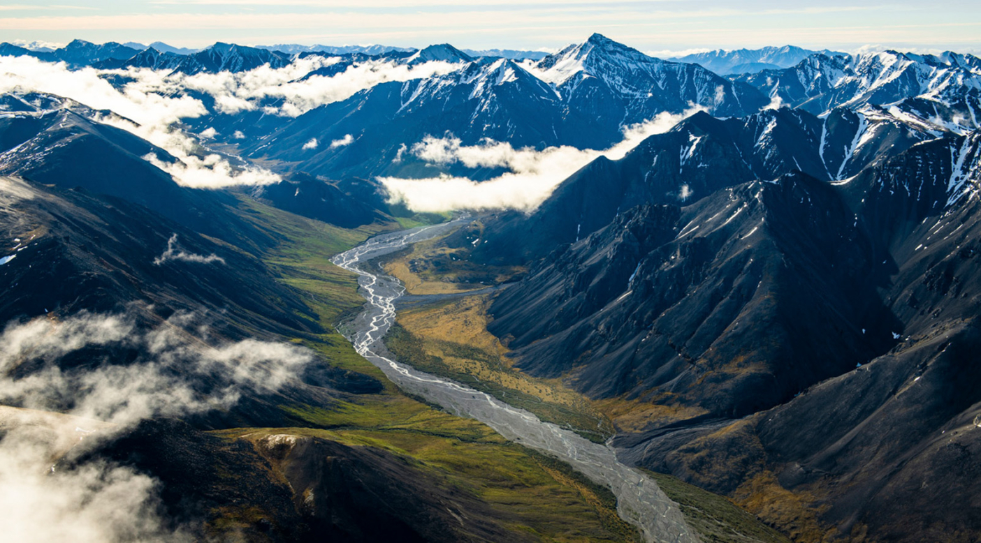 Foothills of the Brooks Range in the Arctic National Wildlife Refuge, Alaska. Photo: Austin Siadak